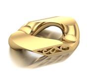 bracelet chain link obj
