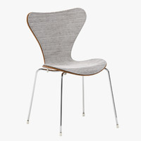 fritz hansen 3107 chair 3d max