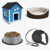 dog accessories 3d 3ds