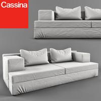 cassina miloe 3d model