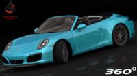 3d model porsche 911 carrera s