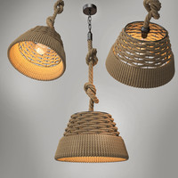 2015 pendant loft lighting 3d model