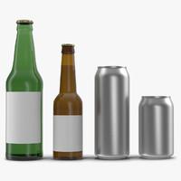 bottles 2 l 3d model