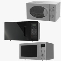 3ds max microwave ovens generic 2
