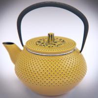 realistic teapot 3d model
