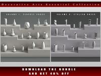 3d model decorative art
