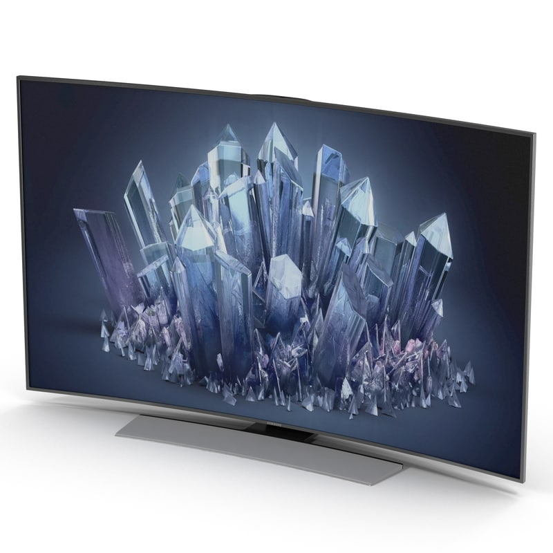 Samsung 4K UHD HU9000 Series Curved Smart TV 55 inch 3d model 01.jpg