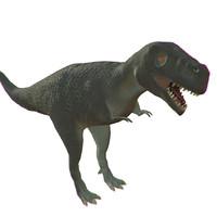 t rex t-rex 3d 3ds