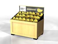 3d market display model