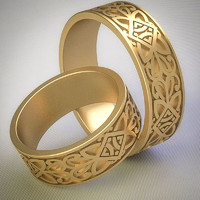 3dm celtic ring
