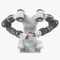 ABB YuMI Robot Rigged