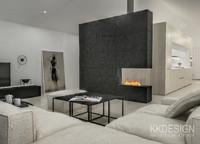 scandinavian interior 3d model