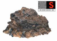 3d model volcanic rock 8k