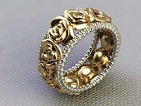 3d ring jewelry gem model
