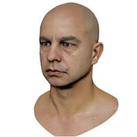 scan head 3d model