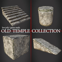 Old temple assets collection