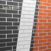 3d bricks wall