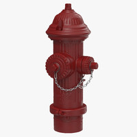 3d hydrant realistic