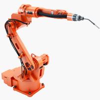 industrial robotic abb irb 3d model
