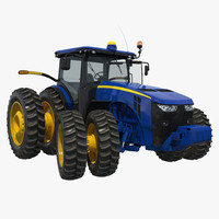 tractor generic 4 rigged 3d max