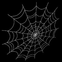 3d model spiderweb scanline