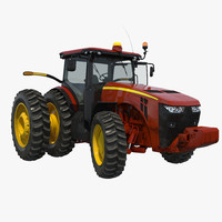tractor generic 3 rigged 3d model
