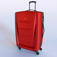samsonite bag 3d model