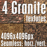 4 High Res Seamless Granite Textures Vol.03 Part4