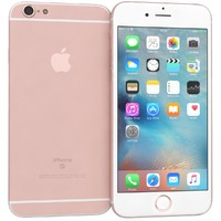 apple iphone 6s rose 3d obj