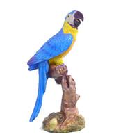 ara parrot statue 3d model