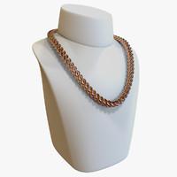 c4d realistic chain