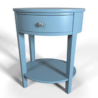 3d accent table design model