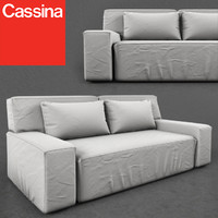 cassina myworld 244-11-hp 3d model