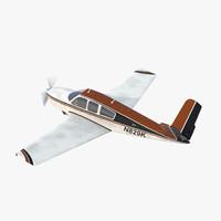 d model ciil utility aircraft beechcraft bonanza