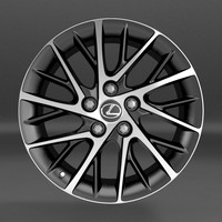 3d lexus wheel1 model