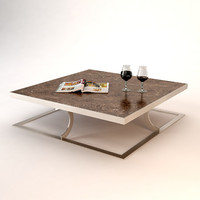 3ds max baxter paul small table