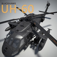 3d uh-60 blackhawk