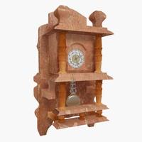 obj wall clock