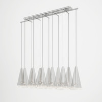 3d model flos fuscia suspended light
