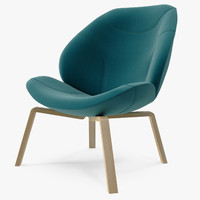max softline eden chair green