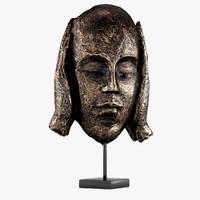 3d model bronze statue