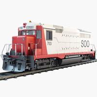 3dsmax gp30 soo 703 diesel