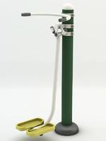 3d model norten nt-43 outdoor fitness equipment