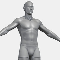 obj male body