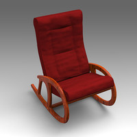3d x leather armchair chair