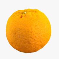 3d c4d orange