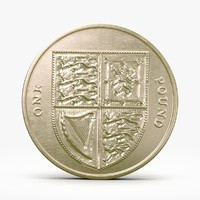 3ds max pound coin
