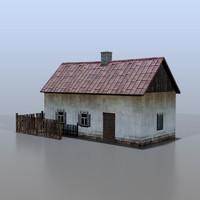 3d model of house belarusian