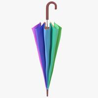 umbrella closed 3 3d 3ds
