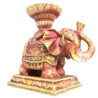 3d elephant statuette ready